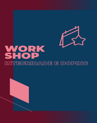workshop integridade e doping